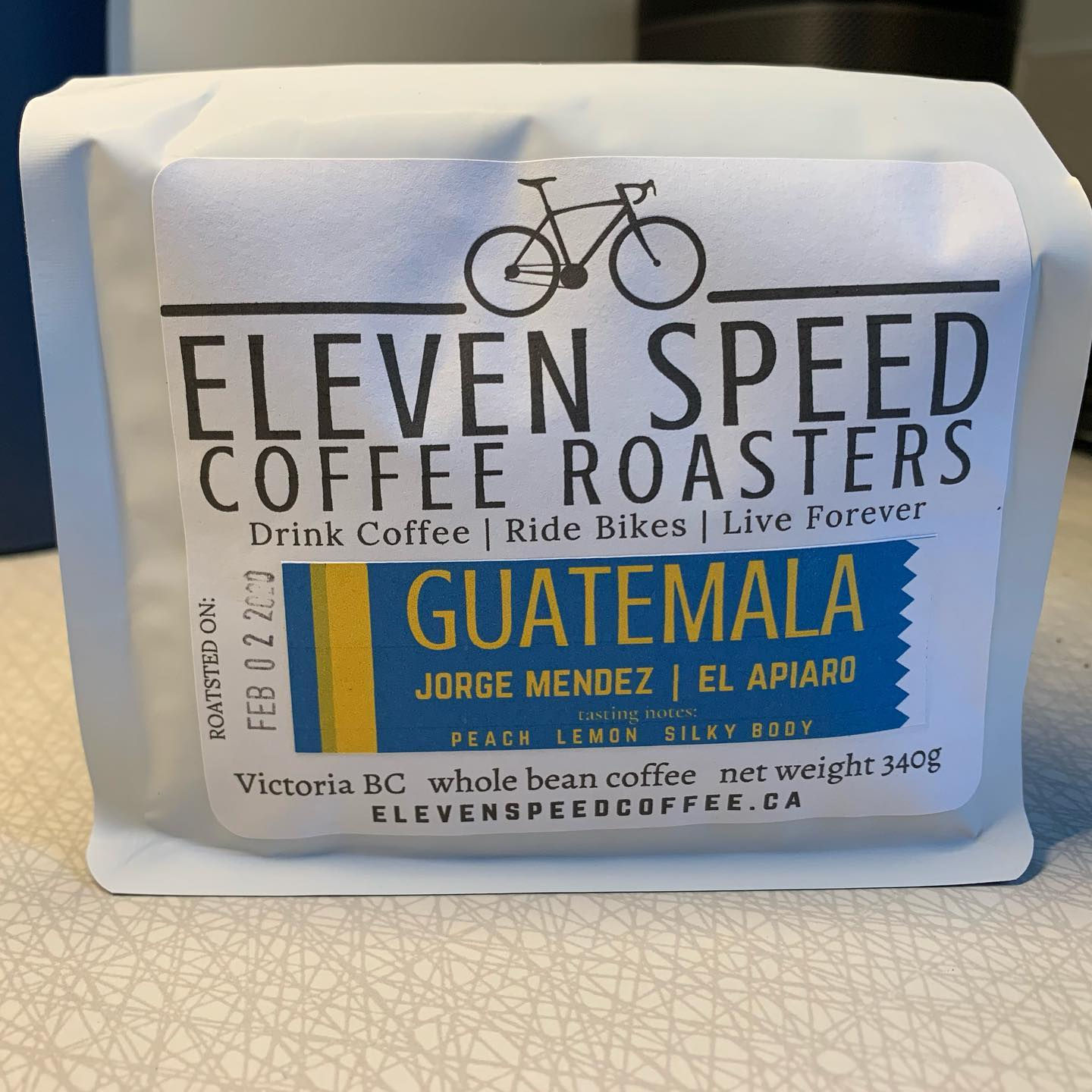 From one internet rando to another, if you live in Victoria BC and drink coffee, then head over to @elevenspeedcoffee and order a bag of this deliciousness. #yyj #esquimalt #coffee #yyjcoffee #shoplocal