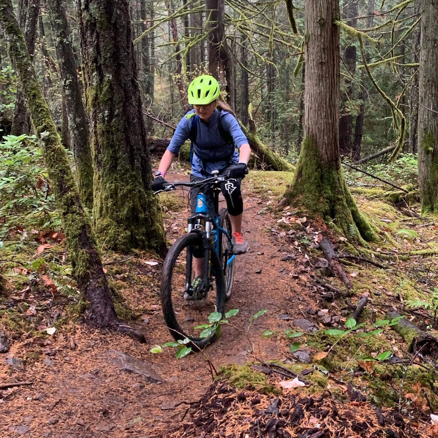 The kids and I went for a little spin out at the dump today. Great to see some moisture in the ground again. #mtbvi #yyj #mountainbiking #bikesarefun